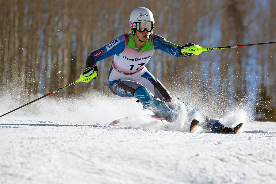 Slalom action (Pic: Kevin Pritchard)