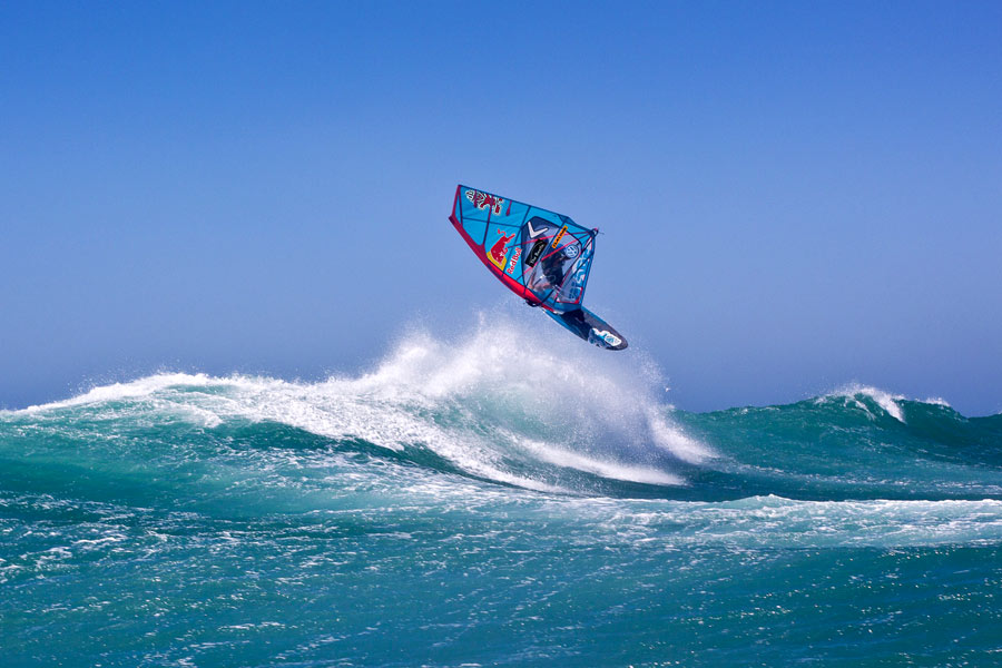 Philip Köster tested the latest Blades at Gnaraloo, Western Australia
