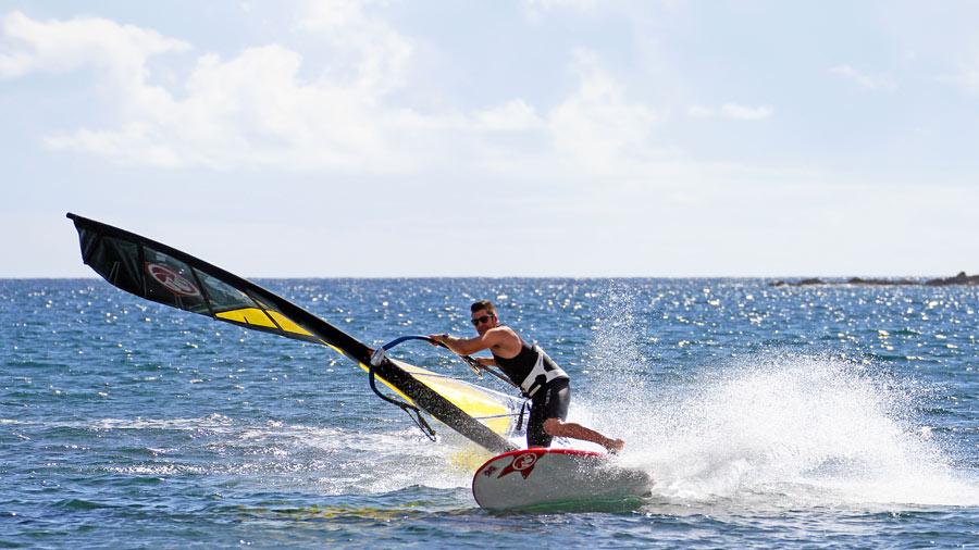 Vincent Langer on Tenerife