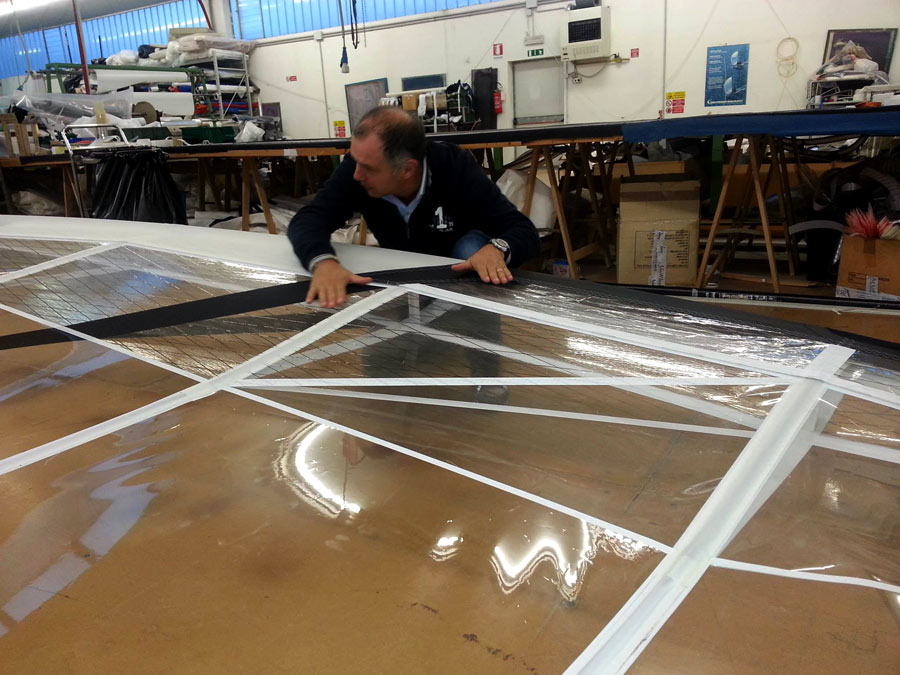 Wing Sails Construction