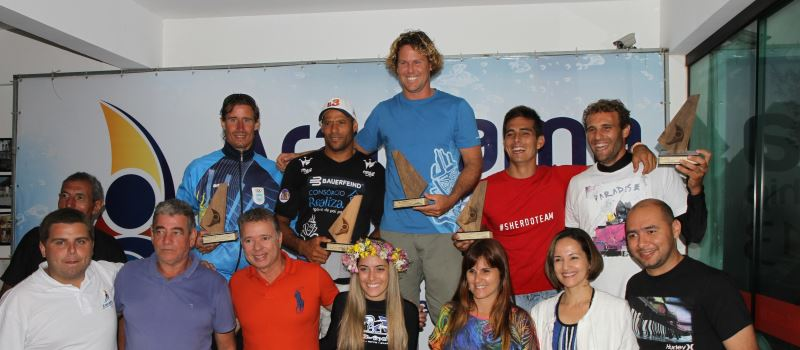 The winners at the 2013 FE Worlds