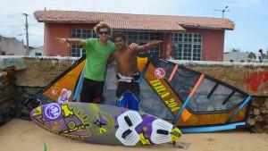 Hugo and Loick in Brazil