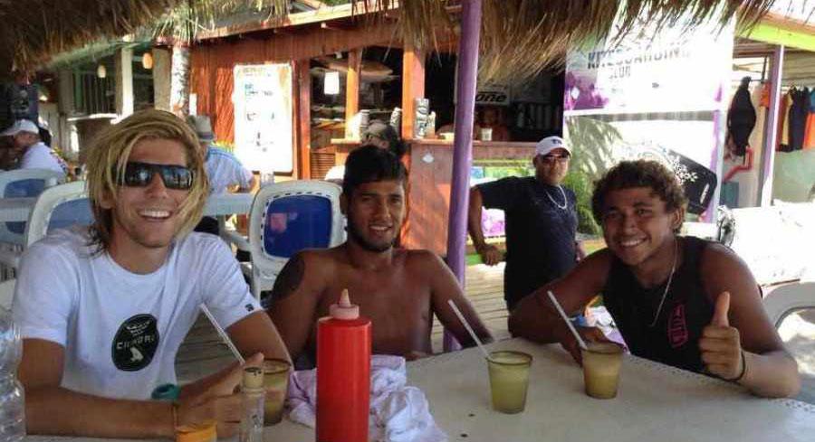 Team Windjeri in El Yaque