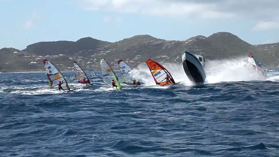 A perfect flying start at St.Barth