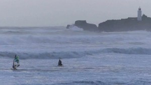 Red Bull Storm Chase final in Cornwall