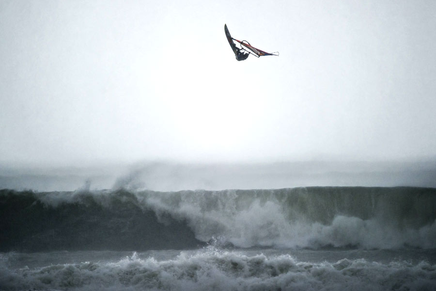 A huge jump by Thomas - Pic: Sebastian Marko/Red Bull Content Pool