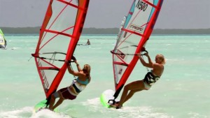 Freestyle girls in Bonaire