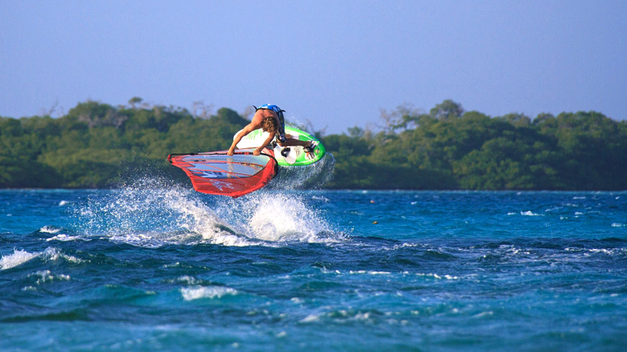 Little ramps on Bonaire for big moves (Pic: Yolanda Smeets