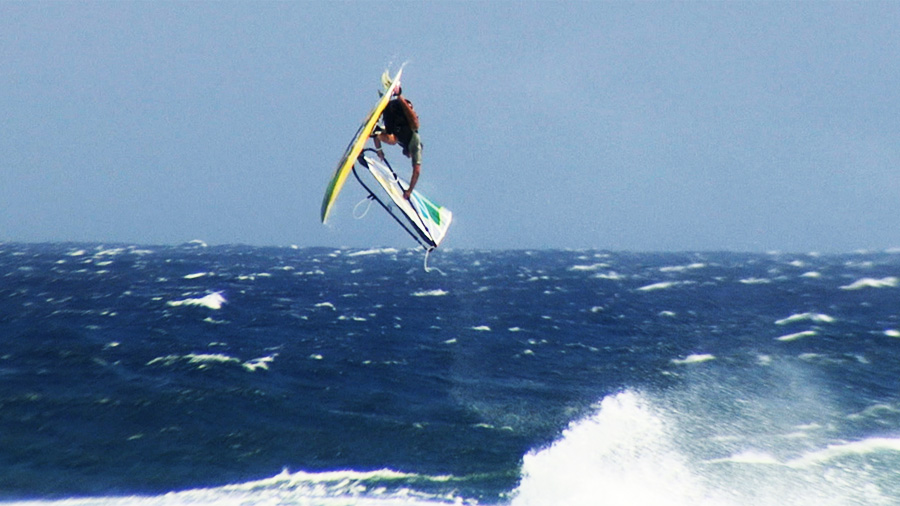 Marcilio with the quad upside down at Pozo on May 10th