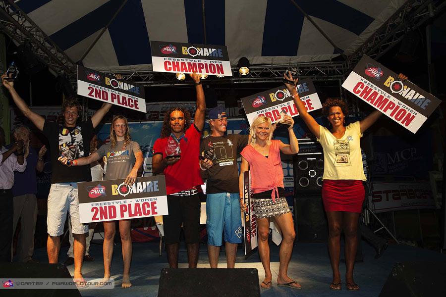 PWA World Cup Bonaire Winners