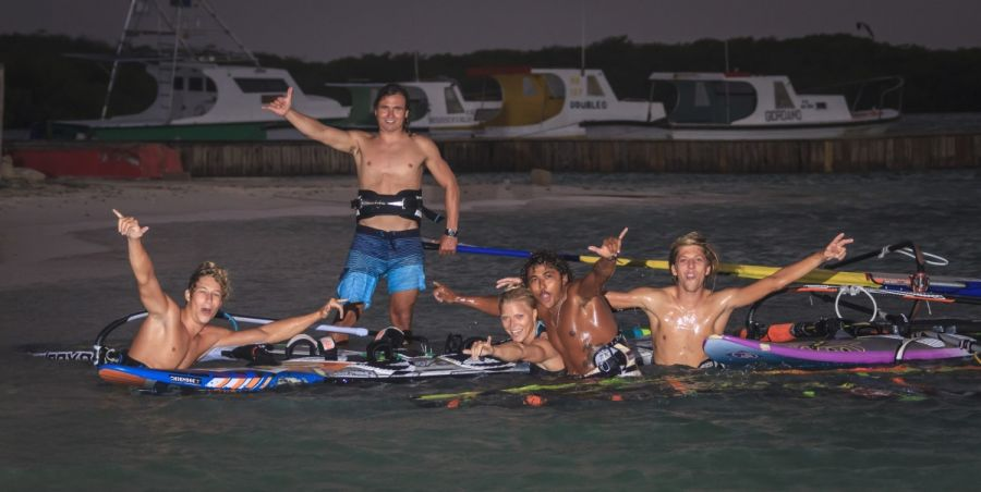 Evening windsurfing session - Pic: Markus Seidel