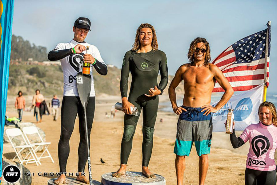 The top 4 in the SUP competition