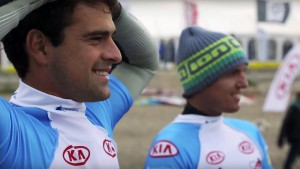 Marcilio Browne wins supersession in the 2014 Cold Hawaii