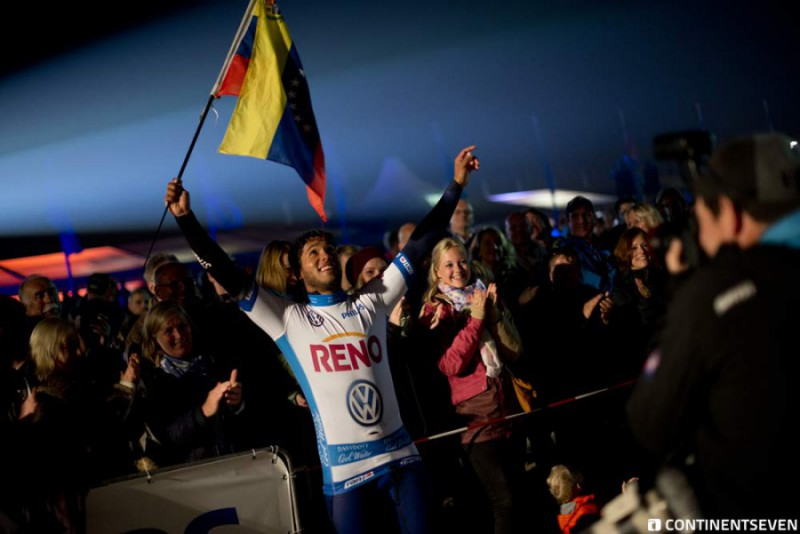 Gollito Estredo wins - Tow-In Night Session Windsurf World Cup Sylt 2014