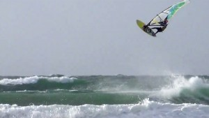 Marcilio Browne with a double Forward at La Torche, France