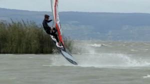 Adam Sims at Lake Neusiedl