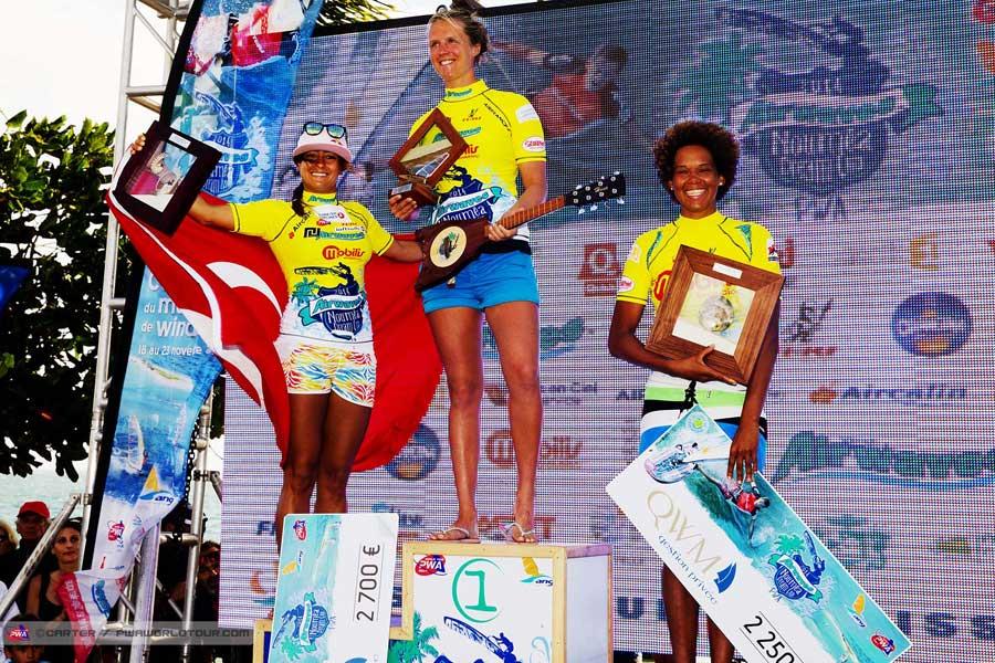 1st Delphine Cousin, 2nd Lena Erdil, 3rd Sarah-Quita Offringa