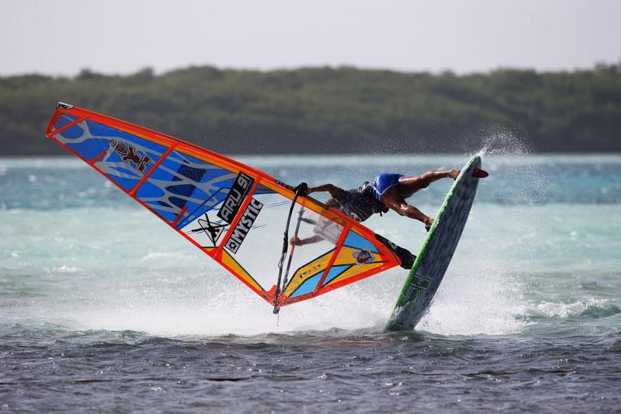 Sarah-Quita Offringa Shove it Spock on Bonaire - Pic: PWA/John Carter