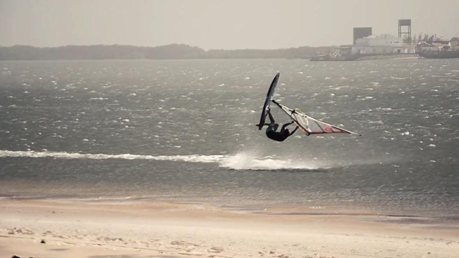Windsurfing Video Julien Mas in Brazil