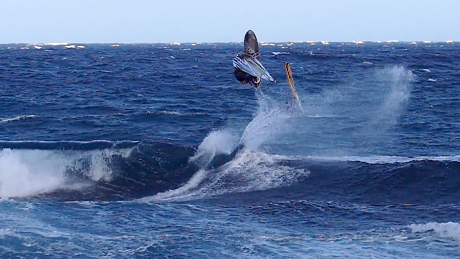 Maciek Rutkowski with good airtime on Tenerife
