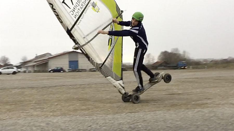 Windskate Air Funnell Burner