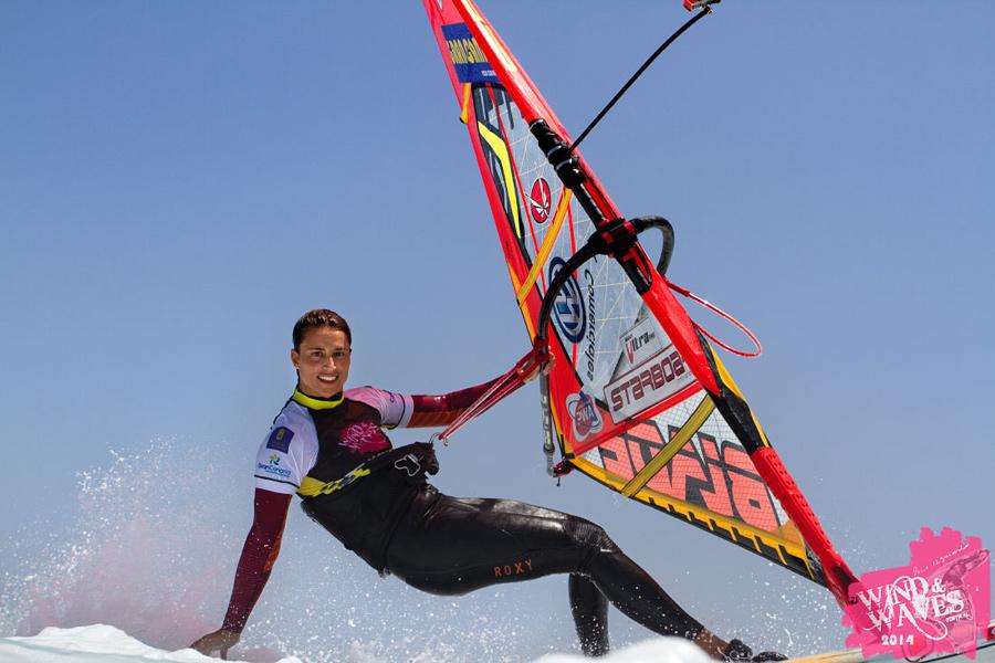 Daida Moreno with a ride for the cam (Pic: Dani Miguel)