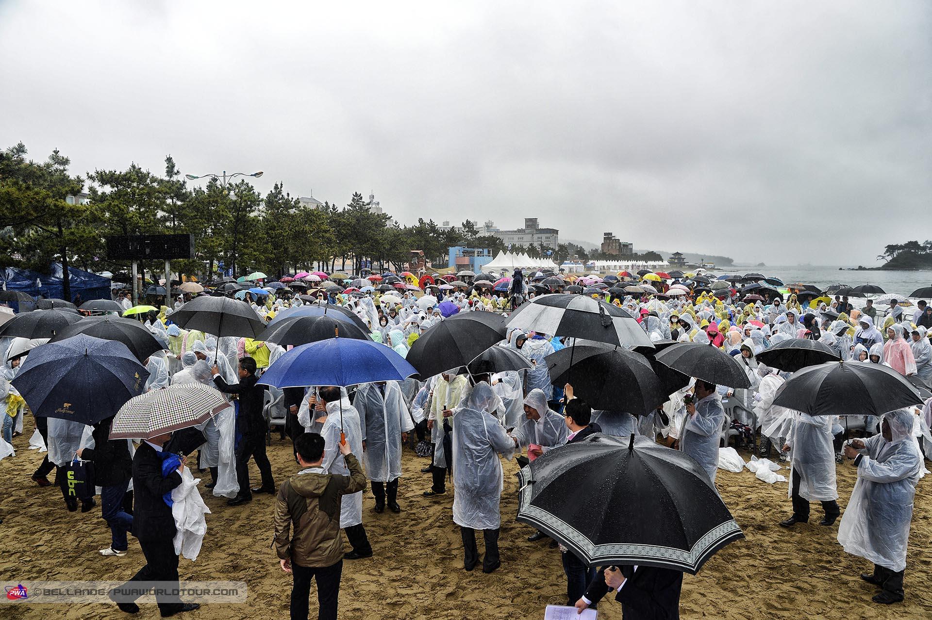 A lot of rain at Jinha