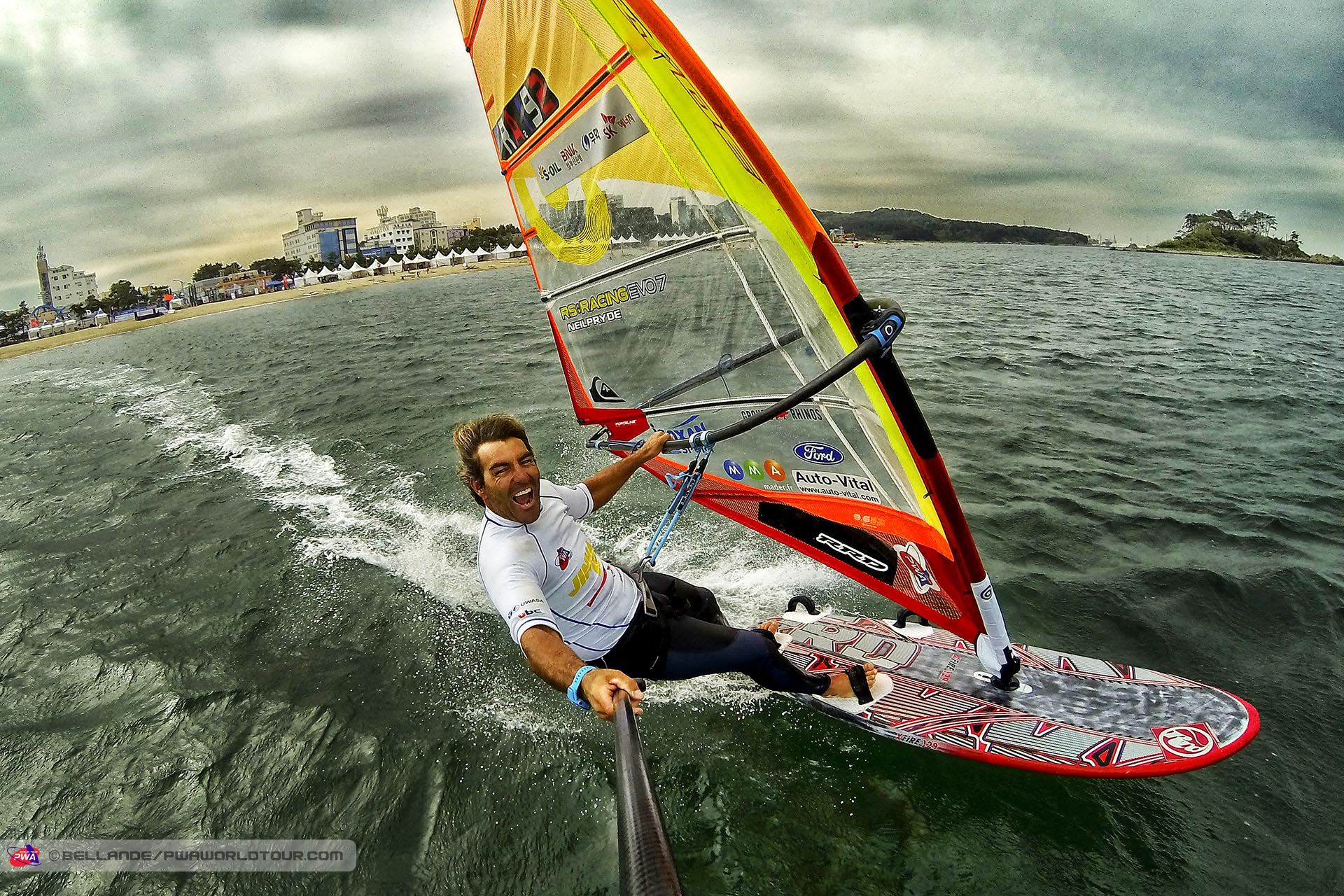 Antoine Albeau wins at South Korea