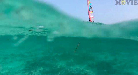Amado Vrieswijk with crazy freestyle action from Bonaire filmed by Kuma Movie