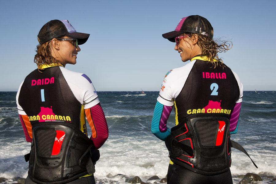 Daida Moreno & Iballa Moreno - Pic: PWA/John Carter