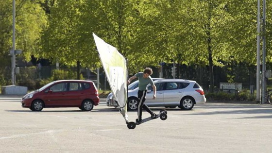Windskate Air Flaka one handed