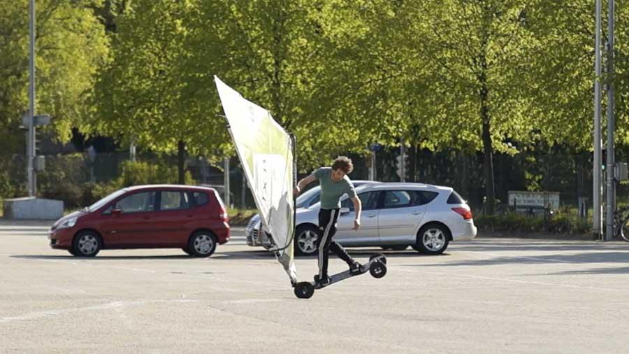 Windskate Air Flaka one handed