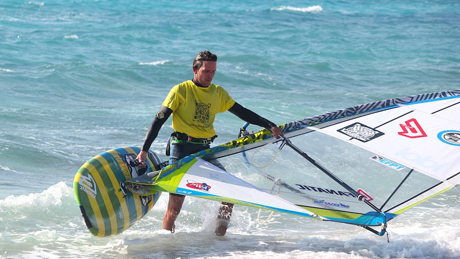 Adrien Bosson returns from his heat (pic: EFPT)