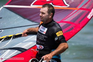 Josh Angulo always is there, this time at Costa Brava2015 (Pic: Carter/PWA)