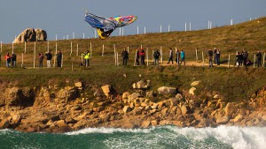 Josh Angulo with great air time at La Torche, France (Pic: Carter/PWA)