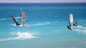 Steven van Broeckhoven at Milos Beach (Pic: EFPT 2015)
