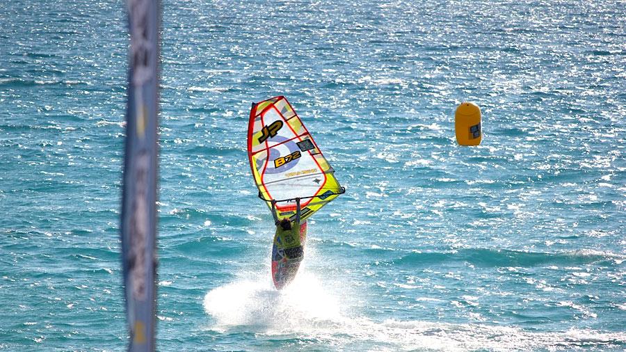 Steven van Broeckhoven was the best rider at Milos  Beach  (Pic: EFPT)