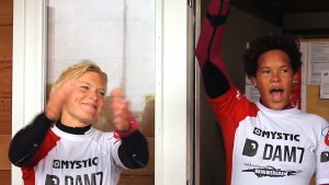 The top girls at Brouwersdam in 2013
