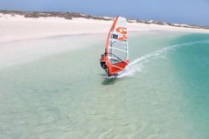 Karin Jaggi cruising on Australia's west coast