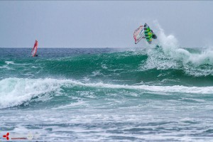 Camille Juban at Waddell Creek - Pic: luckybeanz.com