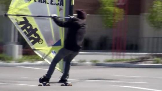 Wind skate