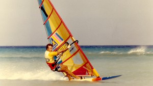 In 1986 French Pascal Maka set a new windsurfing speed record