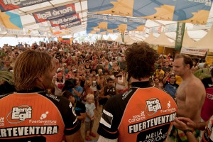 Full house in 2012 during a Slalom winners announcement