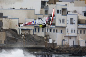 Kevin with a Backloop at Pozo back in 2009 (Pic- Carter:PWAworldtour)
