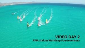 Fuerteventura Slalom Worldcup 2015 Video Day 2