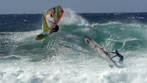 Antoine Martin and Camille Juban on Maui