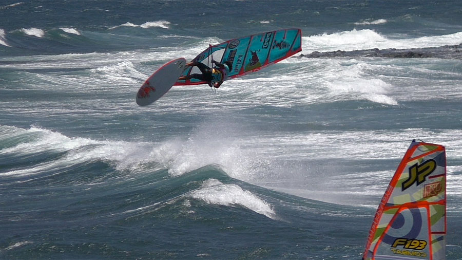 Double Forward Loop off the lip