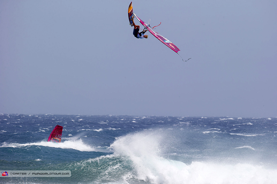 Adam Lewis went to the max (Pic: Carter/PWA)