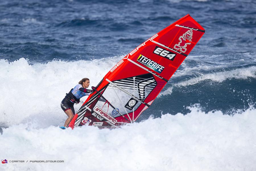 Daida Moreno takes second victory in the 2015 season (Pic:Carter/PWA)