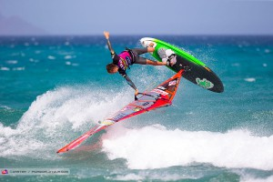 Dieter van der Eyken won his first PWA freestyle event in his career at Sotavento in 2015